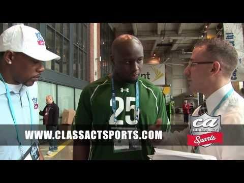 Appalachian St. Linebacker DJ Smith Interview w/ Class Act Sports