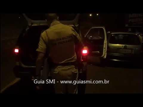 SMI: Polícia Militar cumpre mandado de prisão após abordagem em frente a estabelecimento comercial