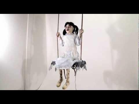 Zombie Girl On Swing Spirit Halloween Youtube