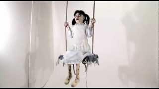 Zombie Girl on Swing - Spirit Halloween