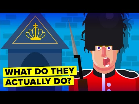 What Does The Queens Guard Actually Do?