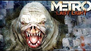 Metro Last Light Gameplay: Shotgun Monster Hunter & Stealth Kills