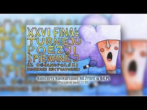 XXVI Finał Turnieju Poezji Śpiewanej we Włocławku – konkursowy koncert cz. I