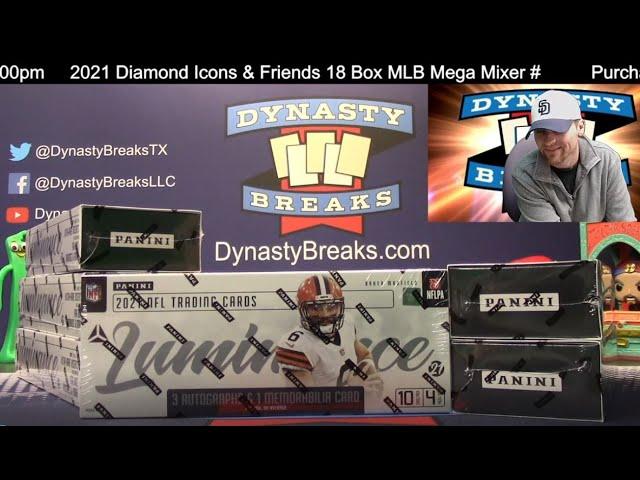 2021 Luminance Football Card 6 Box Half Case Break #12   Sports Cards