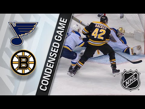 02/01/18 Condensed Game: Blues @ Bruins