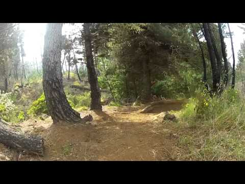 Mamane Mountain Bike Trail Haleakala HI - Downhill