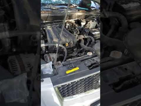Crankshaft sensor nissan sentra 2008 2 0l