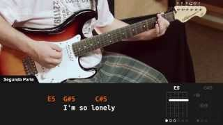 Lithium - Nirvana (aula de guitarra)