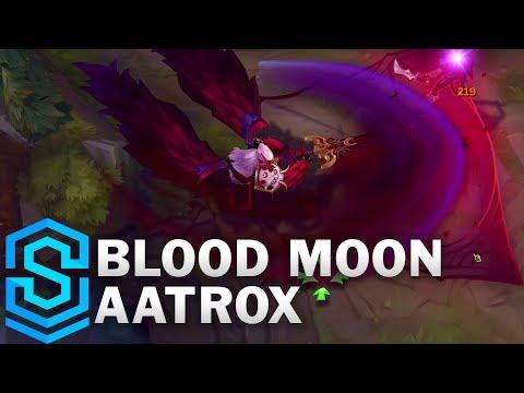 Blood Moon Aatrox Skin Spotlight - League of Legends