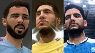 FIFA 20 = REMAKES GOALS COMPILATION = E.CAN = B. SILVA = MERTENS 2020