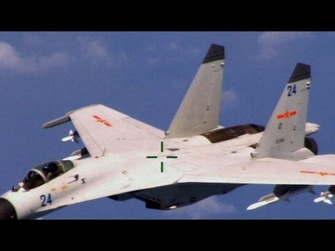 Chinese jet intercepts U.S. surveillance plane