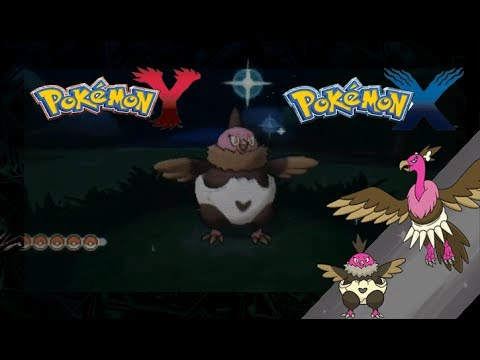 Pokemon X And Y Shiny Vullaby And Evolution Youtube
