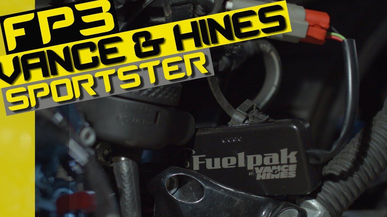 Vance and Hines FP3 Fuelpak 66007 Autotuner for Select 2007-13 Harley Davidson Models