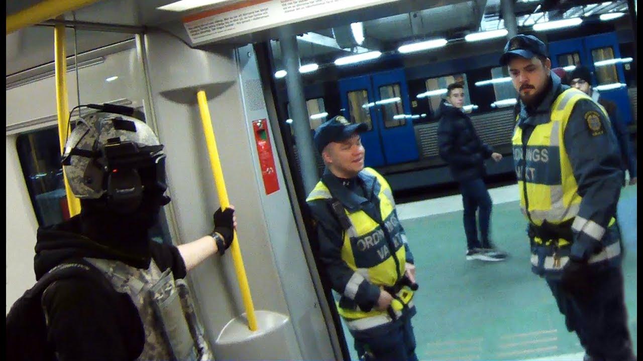 wearing spec ops gear in the metro sweden w subtitles