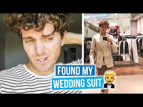Finding My Wedding Suit!!