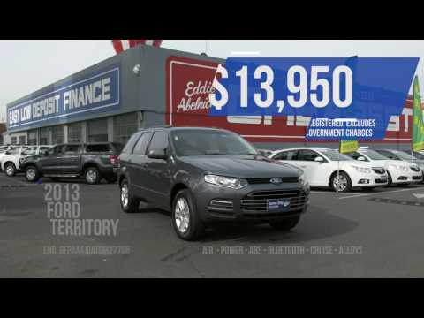 Melbourne's Cheapest Cars - Ford Territory - End Of Financia