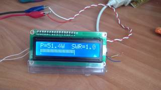 Digital SWR PWR meter