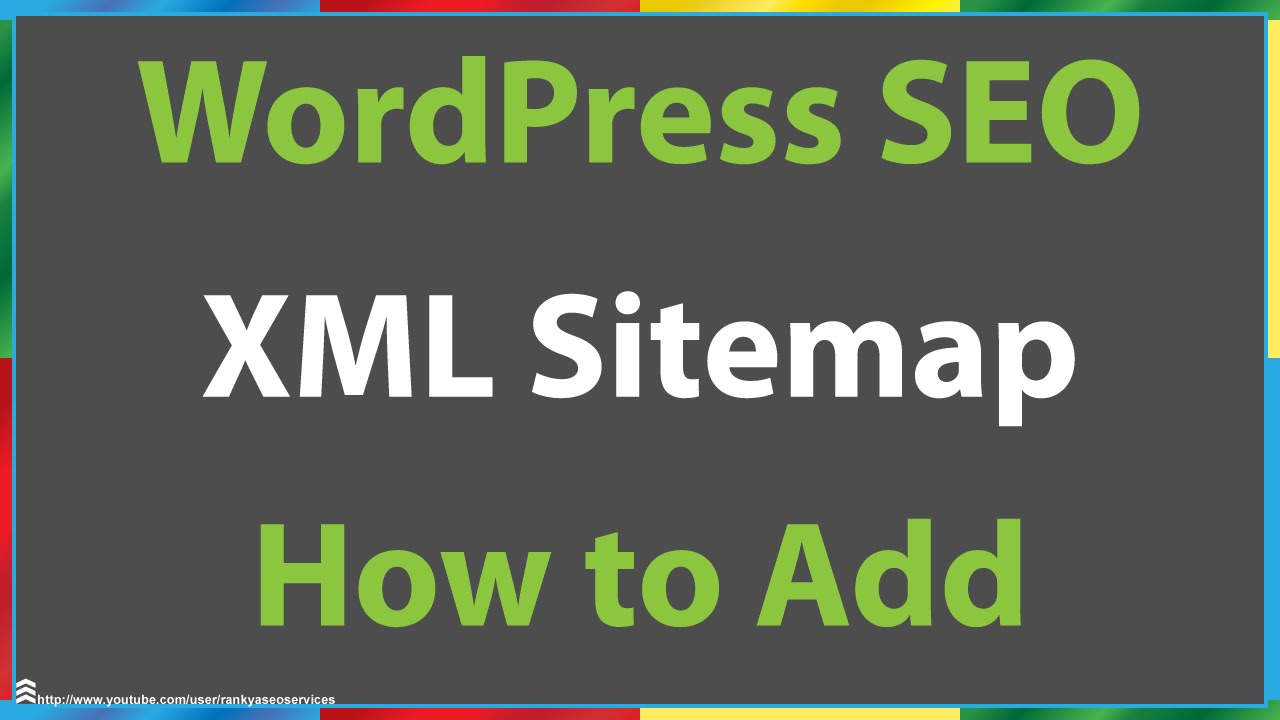 how do i add an xml sitemap to my wordpress site youtube