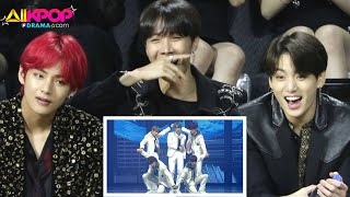 Download lagu [TOP 10] BTS Reaction to TXT and TXT Reaction to BTS When They Meet at Music Awadrs 2020