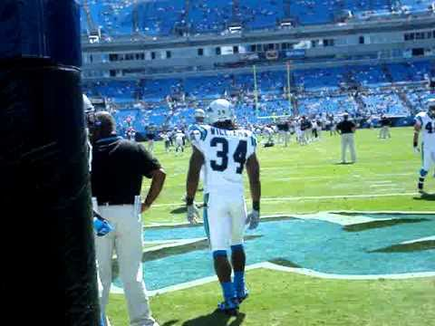 Panthers 2009 Season Opener Vs Eagles