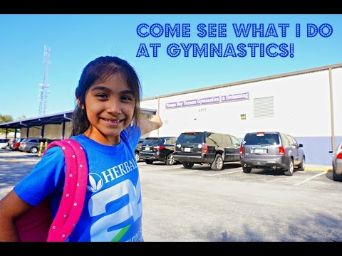COME SEE WHAT I DO AT GYMNASTICS