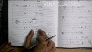 INVERSE TRIGONOMETRY INTRODUCTION CLASS XII NCERT SOLUTIONS CBSE EXERCISE 2.1 thumbnail