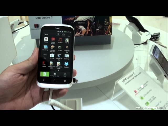 Khui hộp HTC Desire V (hai sim) - www.mainguyen.vn Travel Video
