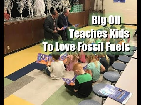 Big Oil Teaching Love Of Oil Inside Public Schools