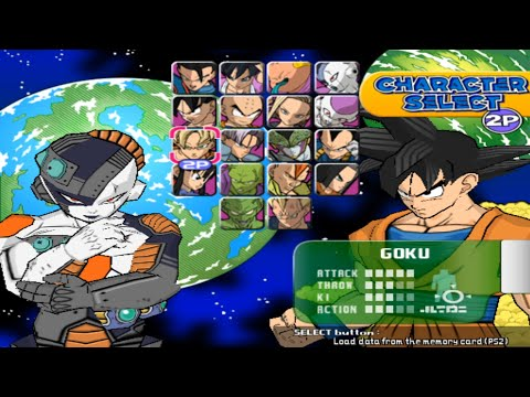 Super Dragon Ball Z Opening And All Characters Ps2
