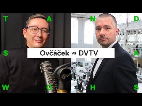 Ovčáček o rozhovoru v DVTV: S Veselovským jsem hrál hru, taky rád provokuju (bonus z Patreonu)