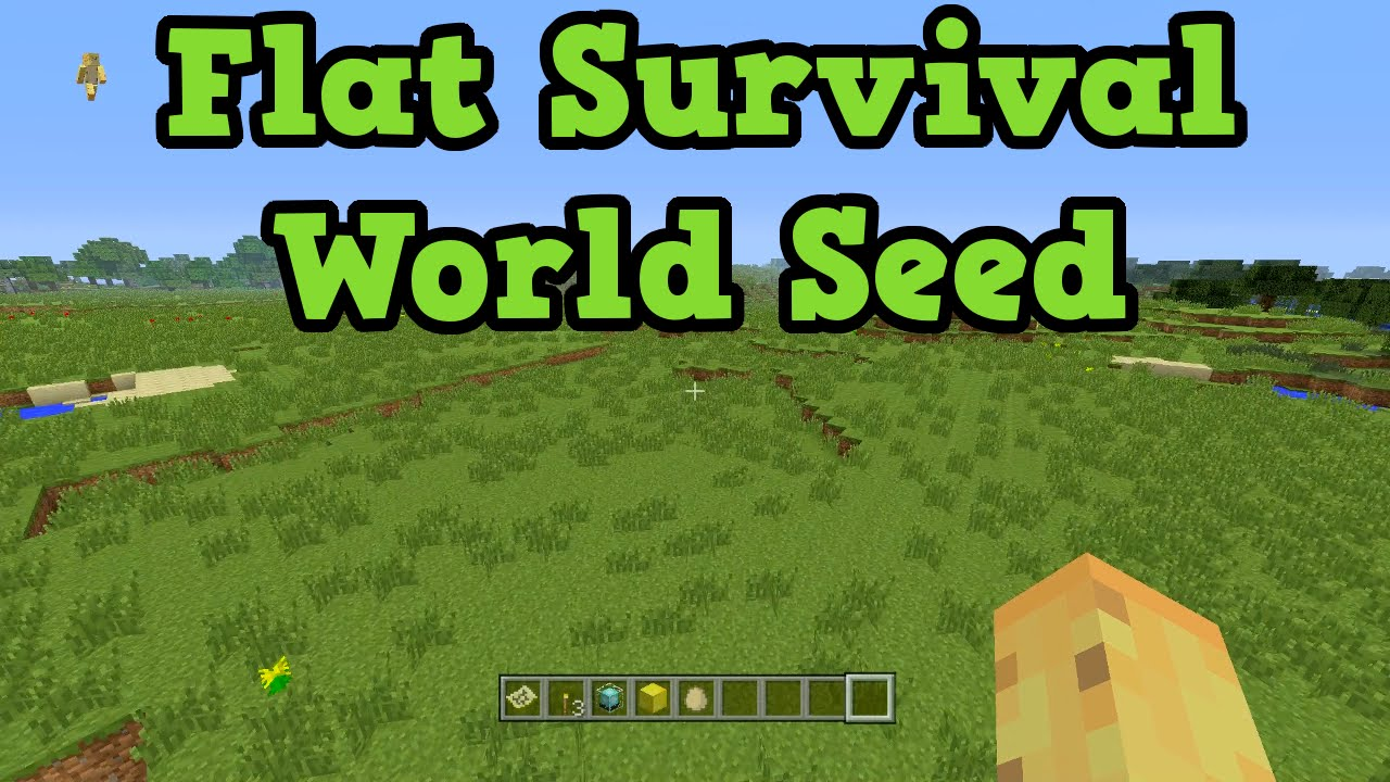 Minecraft xbox 360 ps3 survival seed flatland deserts youtube gumiabroncs Image collections