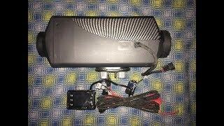 Автономный сухой отопитель 8 kw с AliExpress распаковка посылки для РАФ 2203 турбо дизель