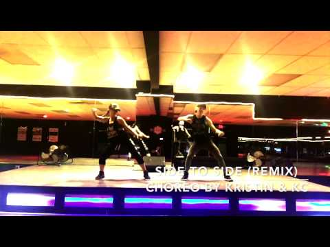 Love 2 Be Fit Studio - SIDE TO SIDE - Zumba Dance Fitness Choreo by Kristin & KC