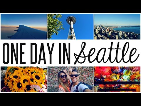 PORT OF SEATTLE: SPACE NEEDLE, GUM WALL, MUSEUM, & MORE