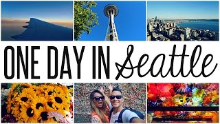 TOURING SEATTLE: SPACE NEEDLE, GUM WALL & MORE  | WANDERLUSTYLE VLOG