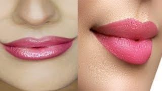 मोटे होटों को पतला, गुलाबी, और खुबसूरत बनाये How To Get Slim Lips & Pink Lips 100% Effective