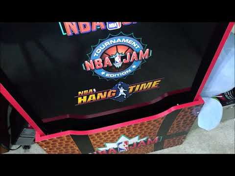 Arcade1UP NBA Jam Vintage Arcade Machine Review from Josh Fann
