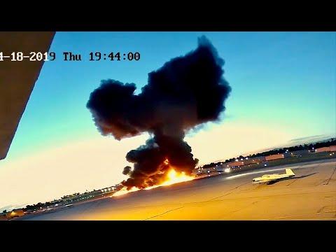 "Crash Of Beechcraft B60 ""Duke"" At Fullerton Airport (Part II)"