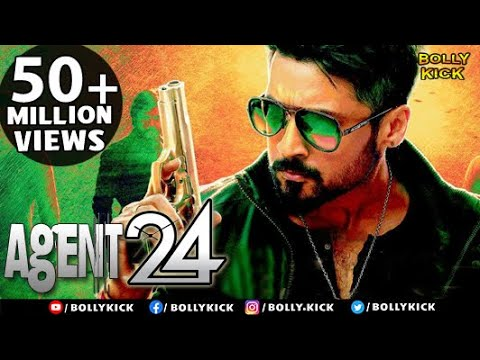 Agent 24 | Hindi Dubbed Movies | Surya