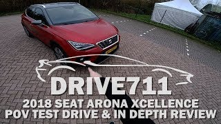 2018 SEAT ARONA POV TEST DRIVE & IN DEPTH REVIEW BY DRIVE711