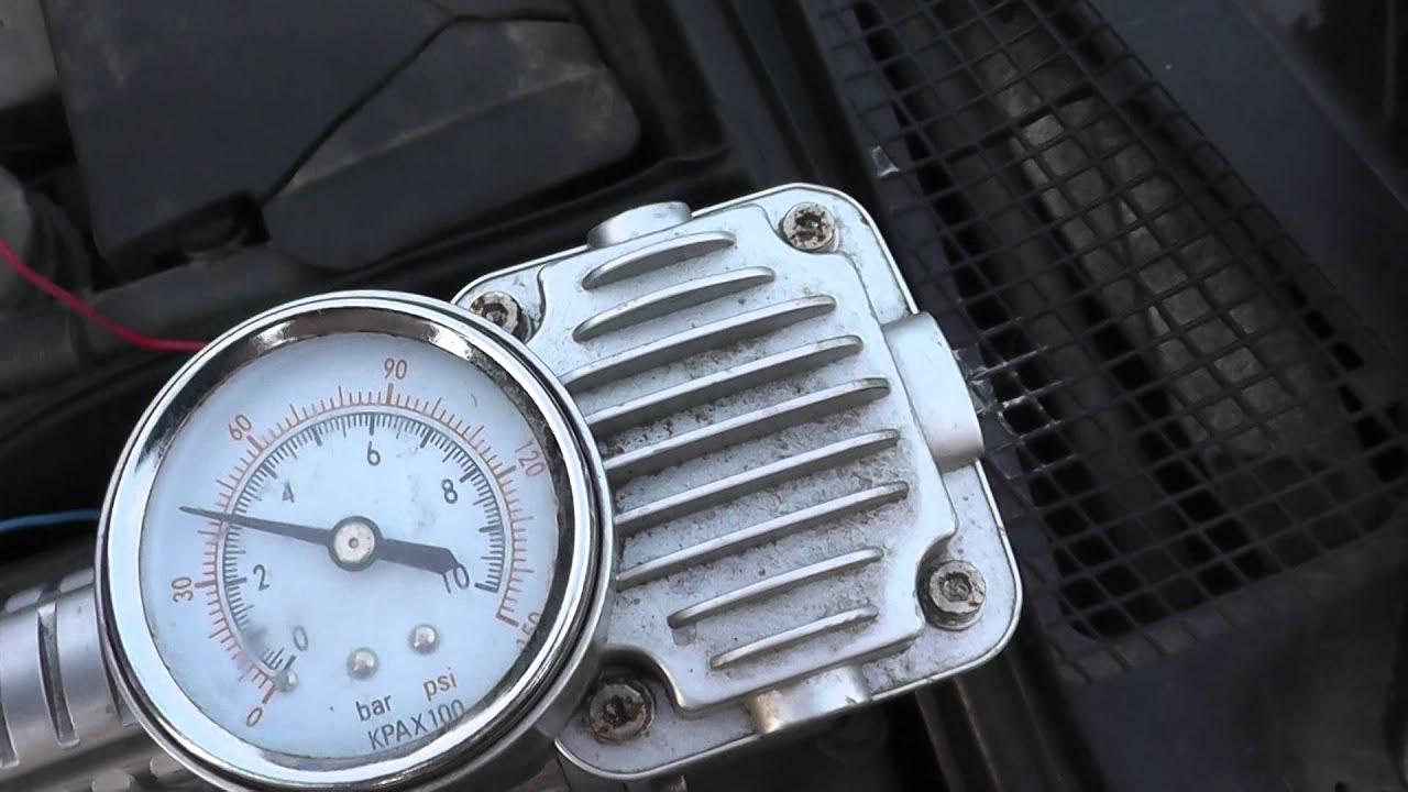 Проверка регулятора давления топлива bmw e34