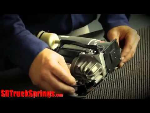 Замена компрессора пневмоподвески Jaguar XJ Series