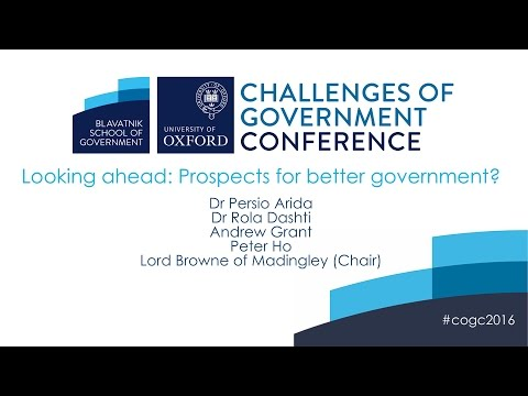 Looking ahead: Prospects for better government?