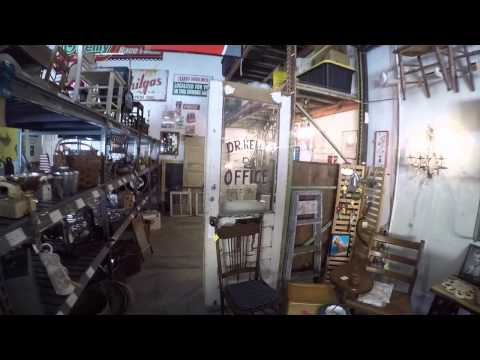 Vintage Finder's Warehouse in North Port Florida