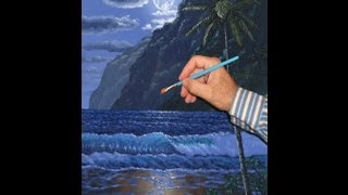 Видео 2 Часть 4 Как нарисовать пляж и горы, и лунный свет(Как нарисовать пляж и горы, и лунный свет пляж луна лунный свет горные лесные деревья вода волна отражение..., 2011-09-01T01:18:15.000Z)