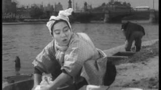 映画「大阪の宿」より昭和29年頃の菅原町の風景