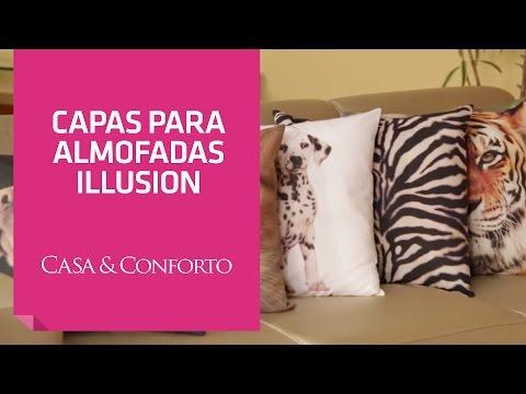 Capas para Almofadas Illusion Casa & Conforto | Shoptime