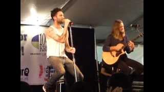 Maroon 5 - (Acoustic) LIVE Moves Like Jagger Houston / The Woodlands, Texas