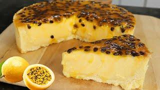 Torta de Maracujá Trufada – Muito Cremosa
