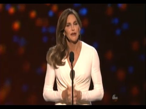 Caitlyn Jenner wins  Arthur Ashe Awards for Courage Full Speech (Audio)  -  Espys 2015 Thoughts